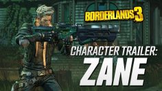 Borderlands 3 – Zane Character Trailer: Friends Like Zane