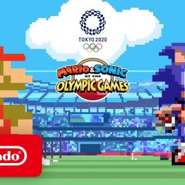 Mario & Sonic at the Olympic Games Tokyo 2020 – Classic 2D Events Reveal Trailer – Nintendo Switch