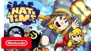 A Hat in Time – Release Date Reveal Trailer – Nintendo Switch